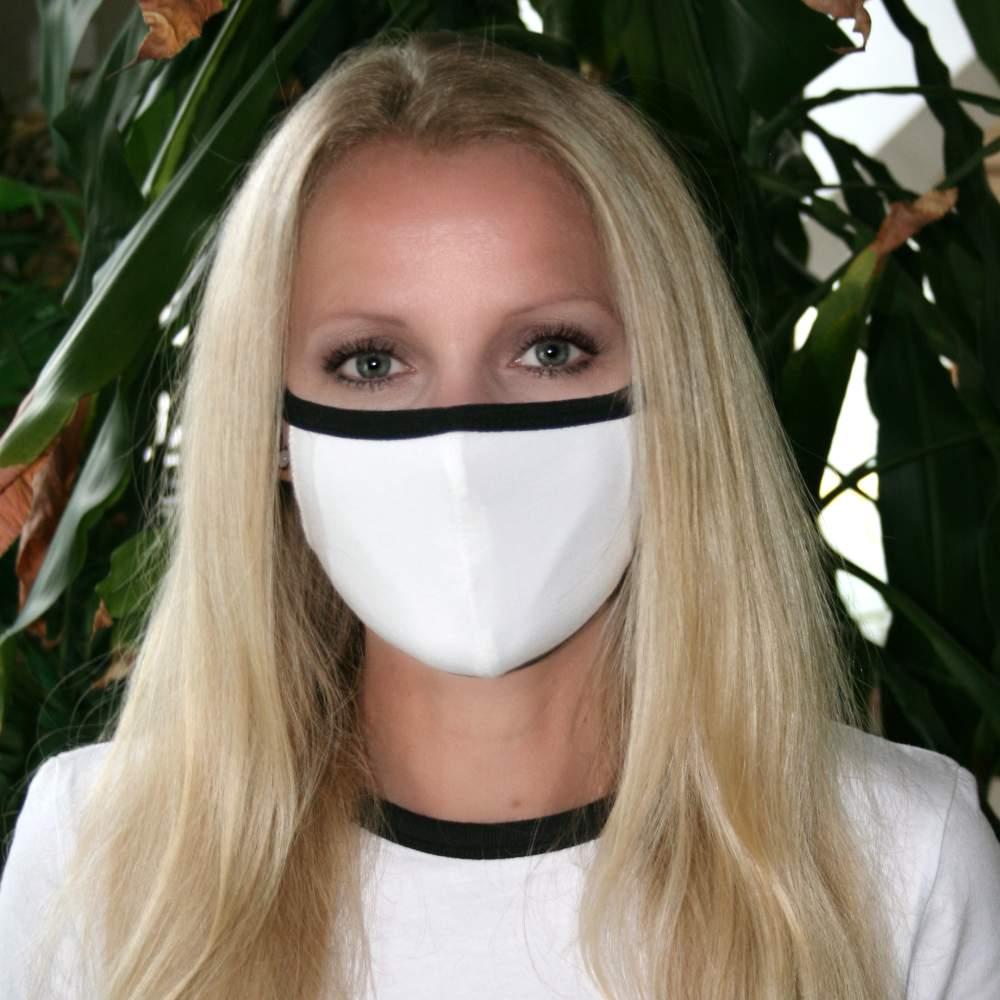 stoffmaske schwarz weiss kaufen
