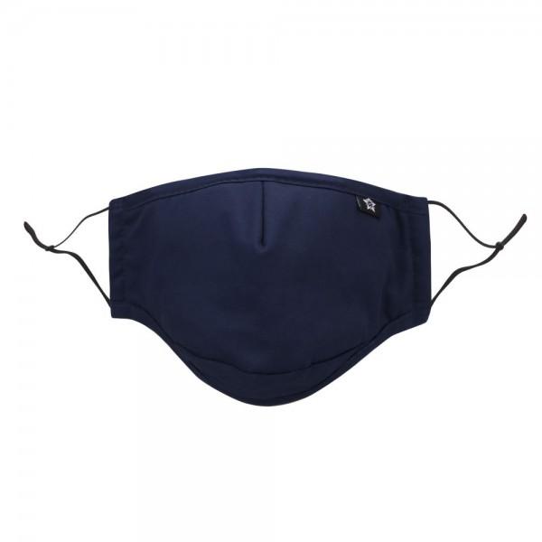 Stoffmaske online kaufen, dunkelblau